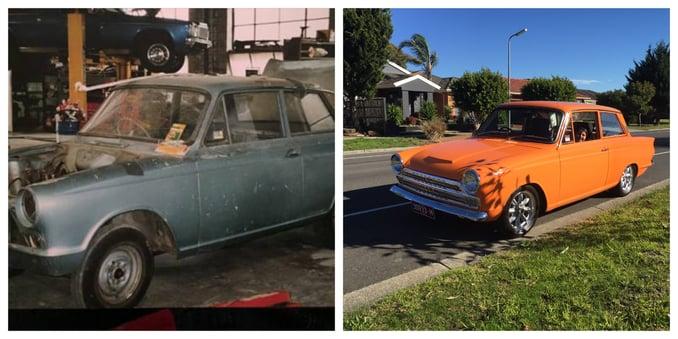 Steve's car