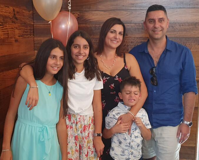 Steve and family